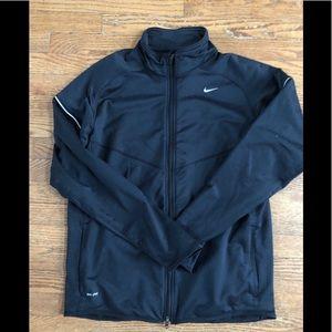 Nike dry-fit zip up jacket Large